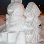 Как рождается снежная сказка