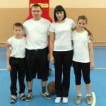 Самая спортивная полицейская семья